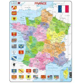 PUZZLE NOUVELLES RÉGIONS DE FRANCE