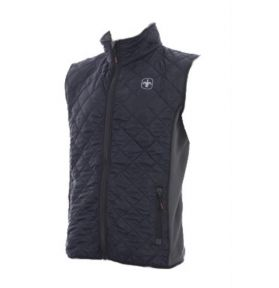 GILET SANS MANCHE QUILTED MARINE