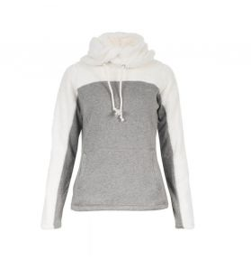 SWEAT LUANNA JUNIOR BLANC/GRIS