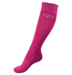 CHAUSSETTES BAMBOU HIVER ROSE