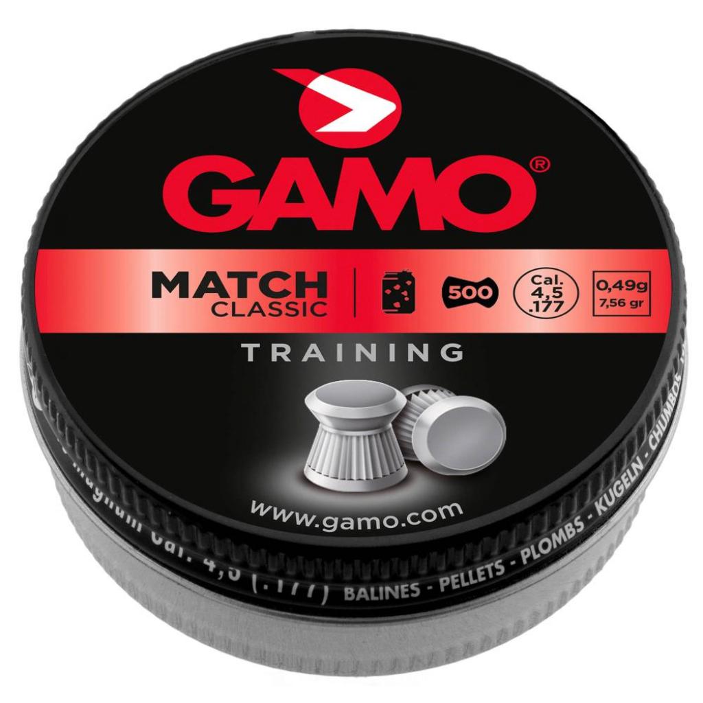 PLOMBS MATCH DIABOLO 4.5MMX500 GAMO