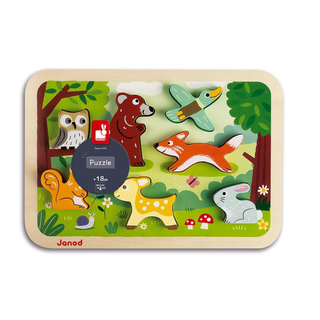 PUZZLE CHUNKY FORET JANOD
