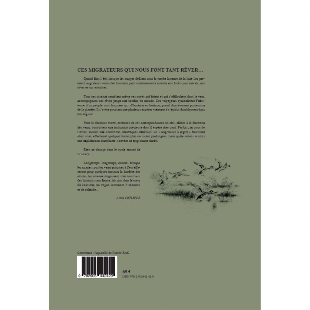 LA CHASSE DES CANARDS VERSICOLOR EDITIONS