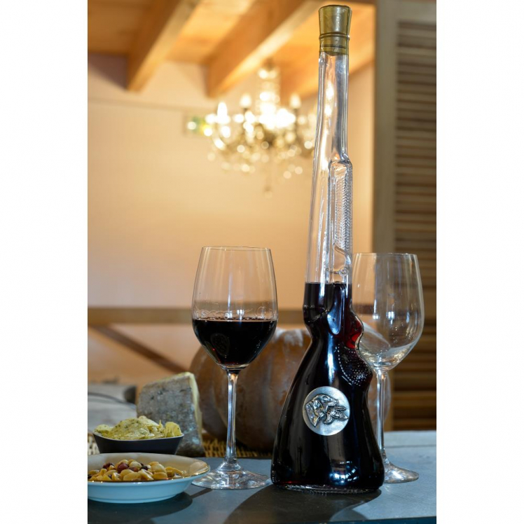 BOUTEILLE FUSIL VIN ROUGE AOC 50 CL ON THE ROCKS