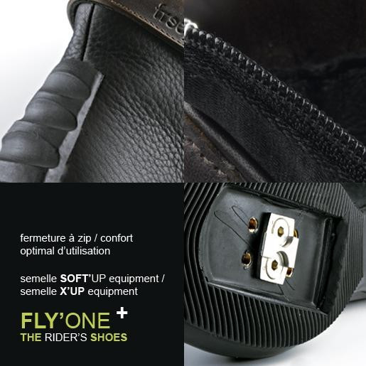 BOOTS FLY ONE SOFTUP NOIRE 42 FREEJUMP