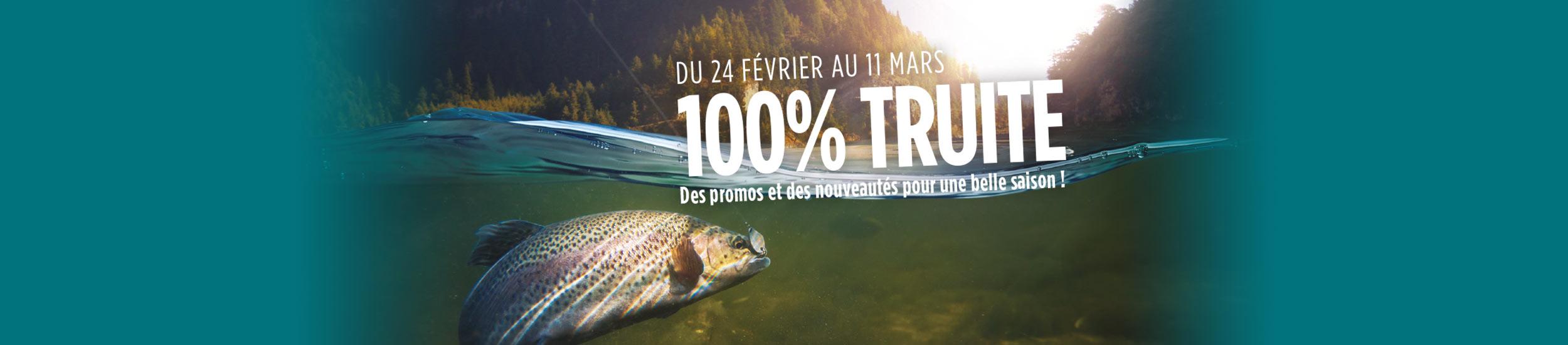 100% TRUITE