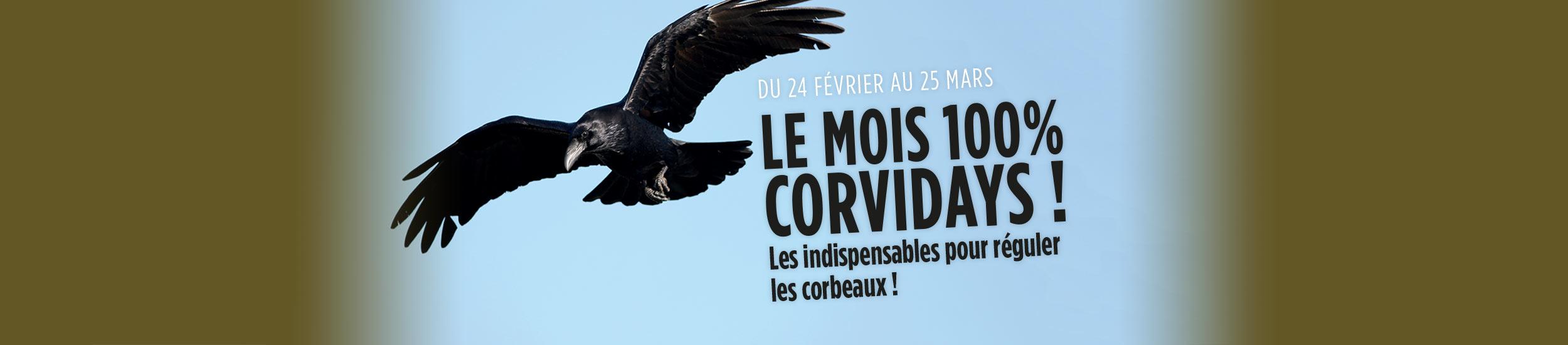 LE MOIS 100% CORVIDAYS !