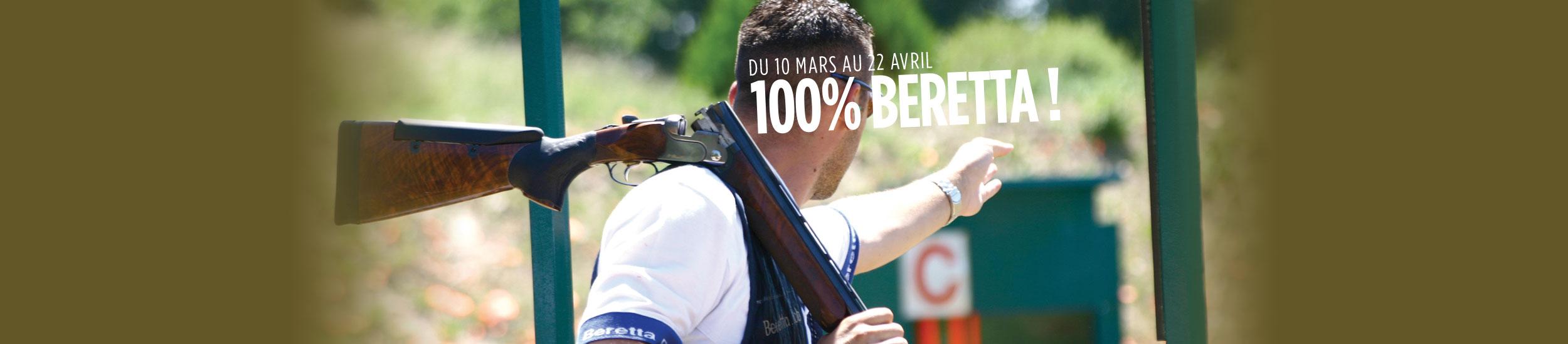 100% BERETTA !