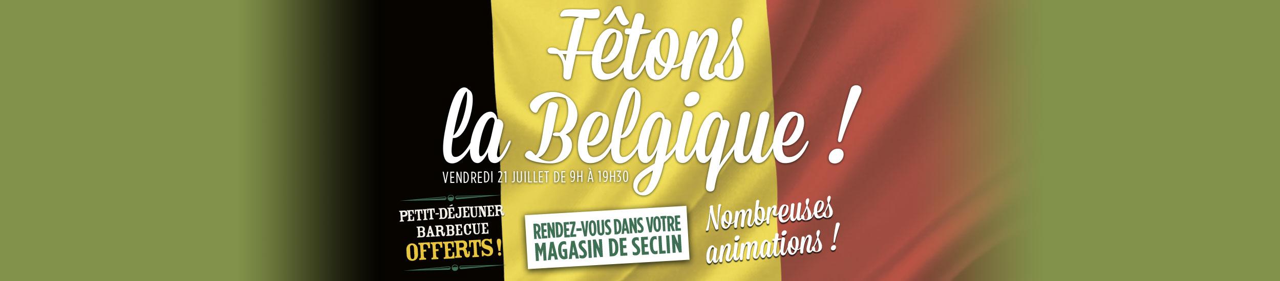 FÊTONS LA BELGIQUE !