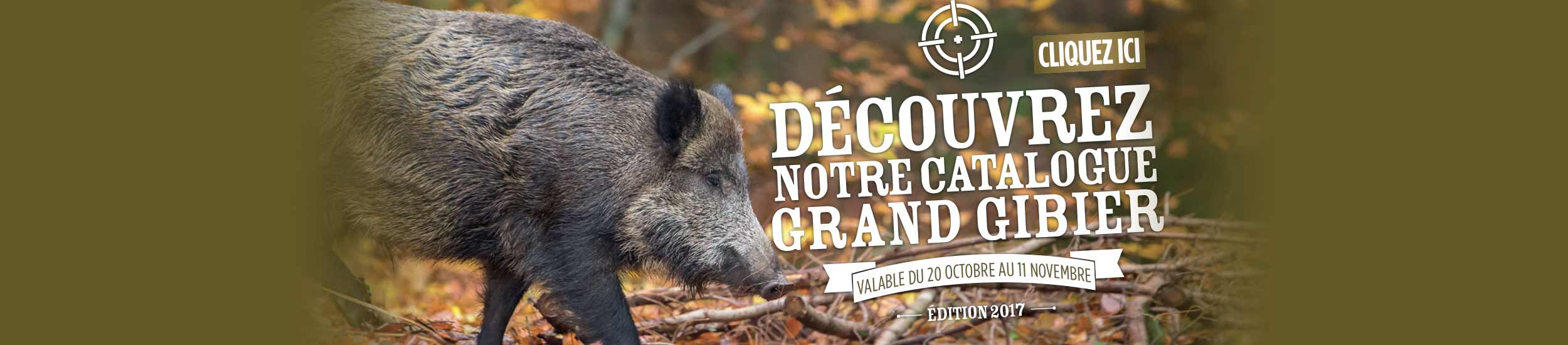 CATALOGUE GRAND GIBIER