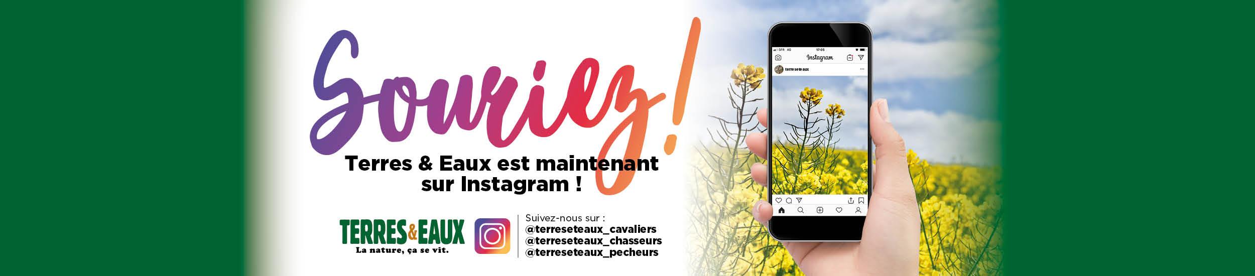 Terres & Eaux débarque sur Instagram !