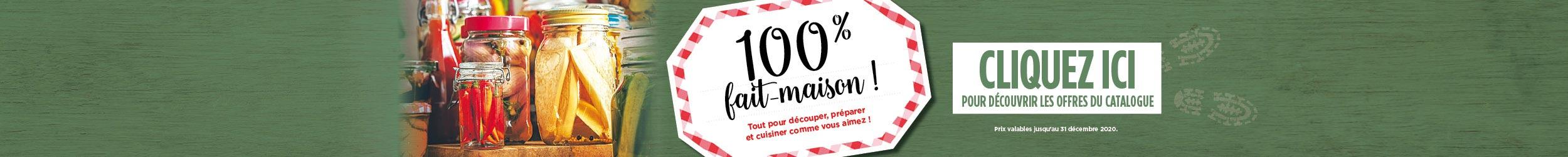 100% Fait-Maison !