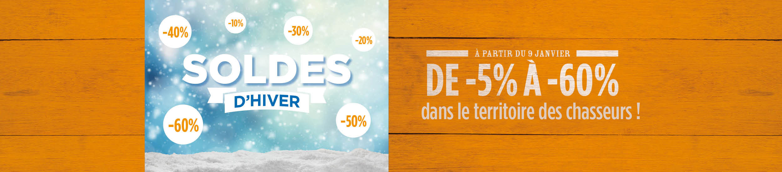 Soldes CHASSEURS