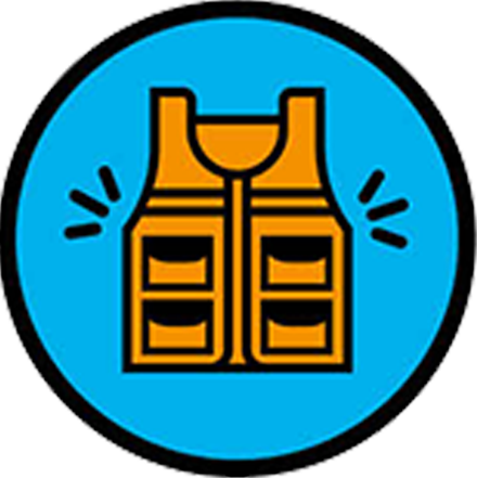 Équipement de protection individuelle haute visibilité